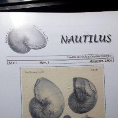 Coleccionismo de fósiles: REVISTA PALEONTOLOGIA NAUTILUS GUADALAJARA NUMERO 1.UNICA.DIFICILISIMA.. Lote 194366928