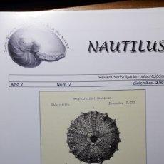 Coleccionismo de fósiles: REVISTA PALEONTOLOGIA NAUTILUS NUMERO 2. UNICA. DIFICIL DE CONSEGUIR.. Lote 194366950