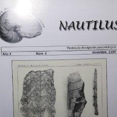 Coleccionismo de fósiles: REVISTA PALEONTOLOGIA NAUTILUS 4. UNICA. DIFICIL DE CONSEGUIR.. Lote 194366980