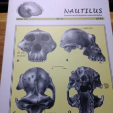 Coleccionismo de fósiles: REVISTA NAUTILUS Nº 8 NUEVA. ASOCIACION NAUTILUS.. Lote 194614882