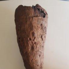 Coleccionismo de fósiles: AUTÉNTICO FOSIL DE DINOSAURIO CUERNO TRICERATOPS JURASICO HUESO GARFIO. Lote 195437735