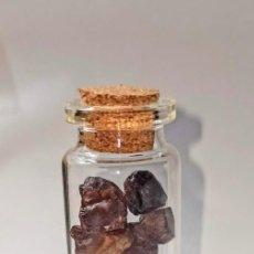 Coleccionismo de fósiles: PEPITAS DE AMBAR GRANATE DEL MAR BÁLTICO. Lote 226111352