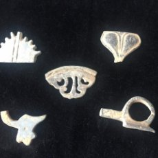 Coleccionismo de fósiles: ARQUEOLOGÍA, LOTE DE OBJETOS HALLADOS EN UNA EXCAVACIÓN. Lote 262390475