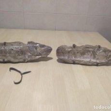Coleccionismo de fósiles: PAREJA FÓSILES. Lote 268286144