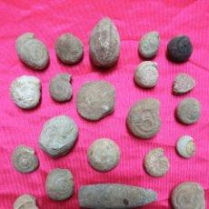 Coleccionismo de fósiles: LOTE 26 PEQUEÑOS FOSILES. Lote 288866483