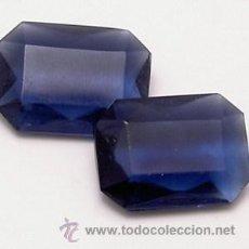 Coleccionismo de gemas: LOTE DE 40 SWAROVSKI ART 4622 COLOR MONTANA 8 X 6 MM. Lote 33680111
