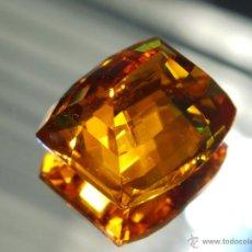 Coleccionismo de gemas: 44.45 CT CITRINO NATURAL 20 X 16 X 12 MMS. Lote 45591682