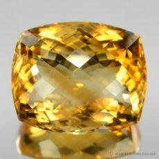 Coleccionismo de gemas: 40.44 CT CITRINO NATURAL 23 X 19 X 13 MMS.. Lote 45657344