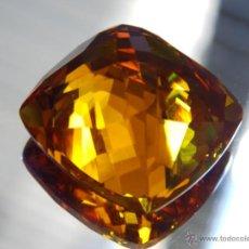 Coleccionismo de gemas: 37.60 CT CITRINO NATURAL 21 X 20 X 13 MMS.. Lote 46165418