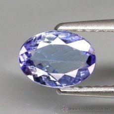 Coleccionismo de gemas: TANZANITA NATURAL OVALADA 4 X 3 MM.. Lote 178620242