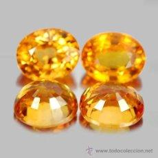 Coleccionismo de gemas: ZAFIRO NATURAL AMARILLO OVAL 5,0 X 3,0 MM.. Lote 97401952