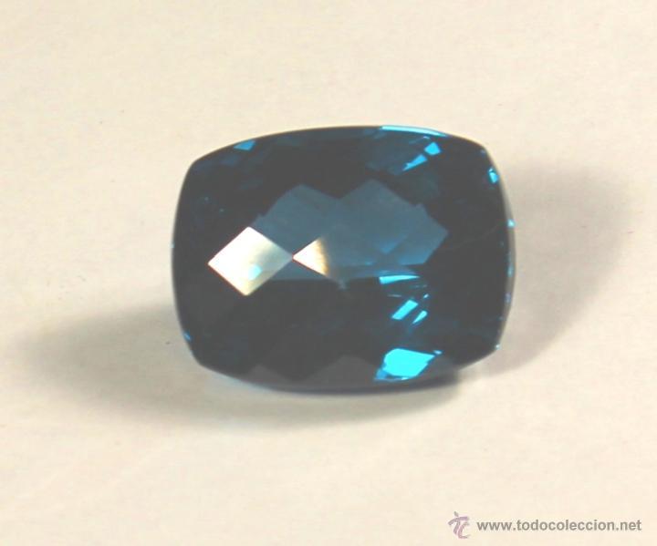 TOPACIO NATURAL DE 49,6 CTS AZUL DE 21 X 18 X 13 (Coleccionismo - Mineralogía - Gemas)