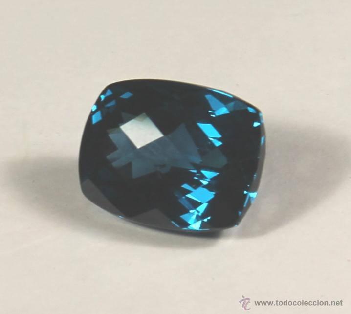 Coleccionismo de gemas: TOPACIO NATURAL DE 49,6 CTS AZUL DE 21 x 18 x 13 - Foto 2 - 46571480