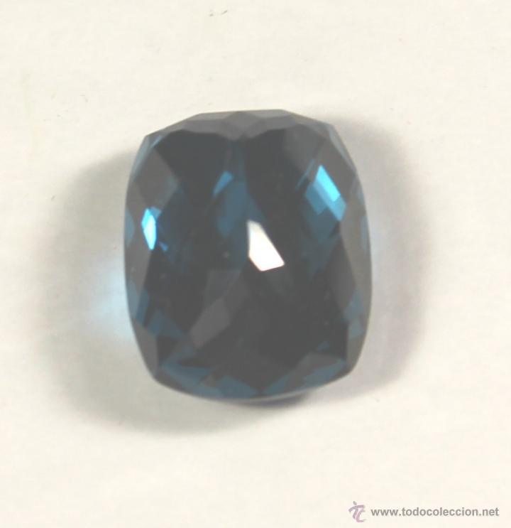 Coleccionismo de gemas: TOPACIO NATURAL DE 49,6 CTS AZUL DE 21 x 18 x 13 - Foto 3 - 46571480