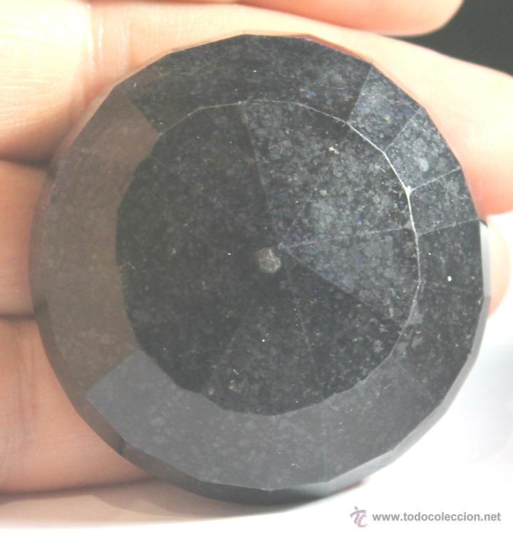 ZAFIRO NATURAL AZUL TALLA REDONDO DE 440 QUILATES CON CERTIFICADO GEMOLOGICO (Coleccionismo - Mineralogía - Gemas)