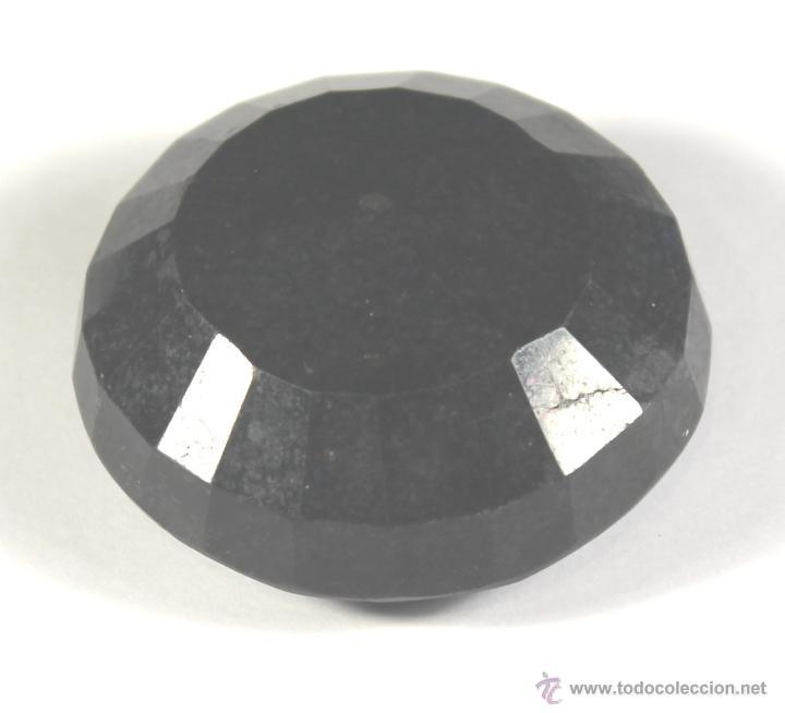 Coleccionismo de gemas: ZAFIRO NATURAL AZUL TALLA REDONDO DE 440 QUILATES CON CERTIFICADO GEMOLOGICO - Foto 2 - 46602653