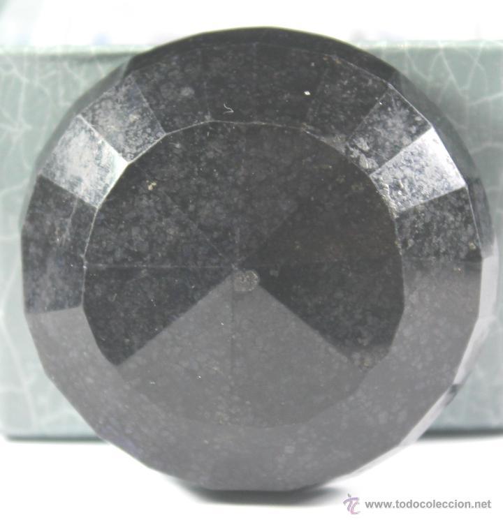 Coleccionismo de gemas: ZAFIRO NATURAL AZUL TALLA REDONDO DE 440 QUILATES CON CERTIFICADO GEMOLOGICO - Foto 6 - 46602653