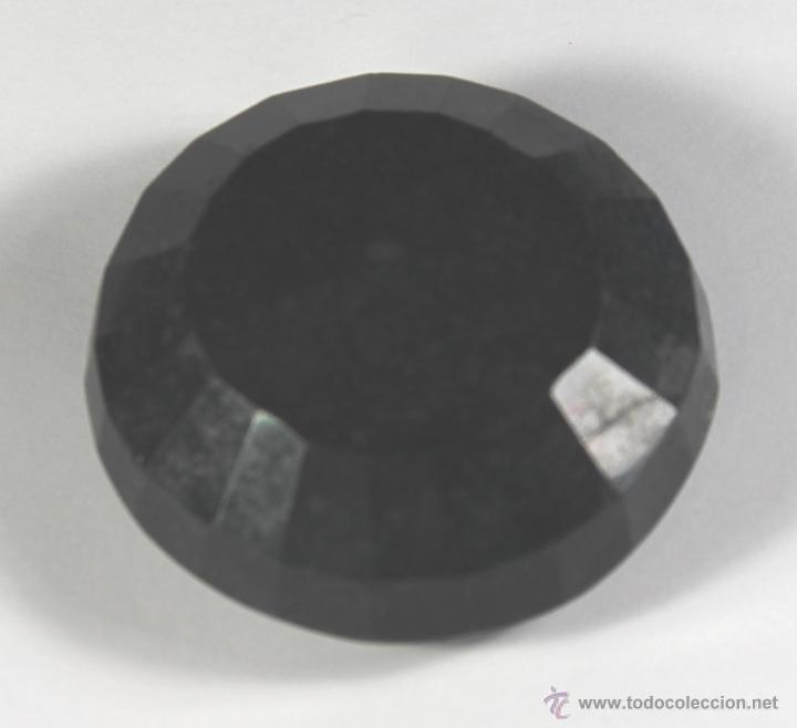 Coleccionismo de gemas: ZAFIRO NATURAL AZUL TALLA REDONDO DE 440 QUILATES CON CERTIFICADO GEMOLOGICO - Foto 7 - 46602653