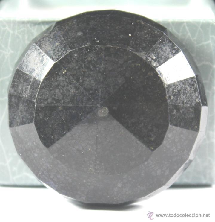 Coleccionismo de gemas: ZAFIRO NATURAL AZUL TALLA REDONDO DE 440 QUILATES CON CERTIFICADO GEMOLOGICO - Foto 11 - 46602653