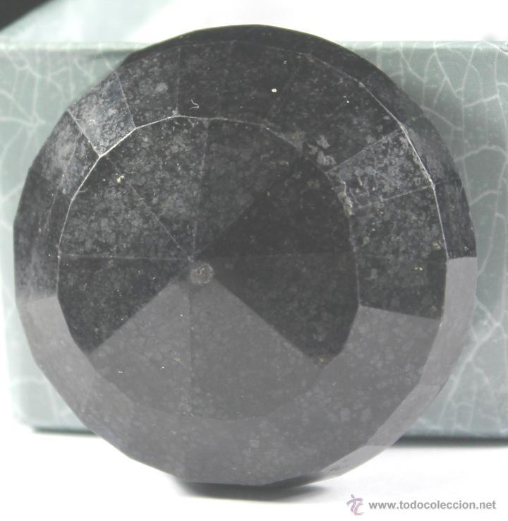 Coleccionismo de gemas: ZAFIRO NATURAL AZUL TALLA REDONDO DE 440 QUILATES CON CERTIFICADO GEMOLOGICO - Foto 14 - 46602653