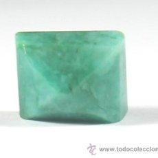 Coleccionismo de gemas: ESMERALDA NATURAL DE 9 QUILATES. Lote 46604093