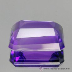 Coleccionismo de gemas: 41.72 CT AMATISTA NATURAL 32 X 27 MMS.. Lote 47295996