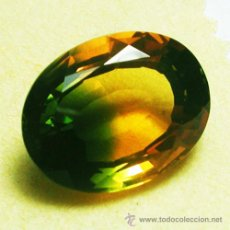 Coleccionismo de gemas: 25.20 CT AMETRINO BICOLOR NATURAL 21.00 X 17.50 X 11.00 MMS.. Lote 48138173