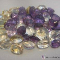 Coleccionismo de gemas: FANTASTICO LOTE DE AMATISTAS Y CITRINOS , MAS DE 300 QUILATES EN GEMAS PRECIOSAS. Lote 48708974