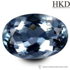 Coleccionismo de gemas: TANZANITA 1.25 CTS. OVAL, CON CERTIFICADO GEMOLOGICO. Lote 145289384
