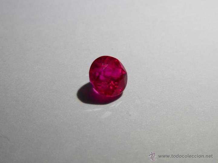 Coleccionismo de gemas: ESCASO RUBÍ DE BIRMANIA DE 0,46 QUILATES, SIN TRATAMIENTOS QUIMICOS, TAN SOLO TERMICO. - Foto 4 - 49607854