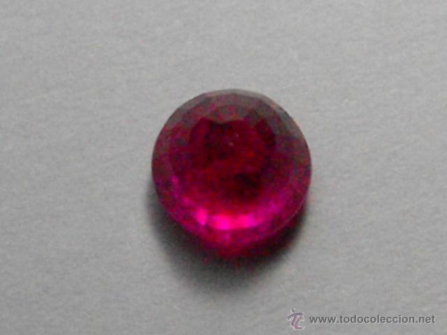 Coleccionismo de gemas: ESCASO RUBÍ DE BIRMANIA DE 0,46 QUILATES, SIN TRATAMIENTOS QUIMICOS, TAN SOLO TERMICO. - Foto 10 - 49607854