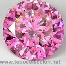 Coleccionismo de gemas: ZAFIRO ROSA TALLA DIAMANTE 0,46 KILATES - MIRAR DENTRO Y LEER DESCRIPCION Y FOTO - Nº2. Lote 149715660