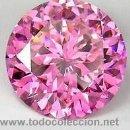Coleccionismo de gemas: ZAFIRO ROSA TALLA DIAMANTE 0,20 KILATES - MIRAR DENTRO Y LEER DESCRIPCION Y FOTO - Nº6. Lote 165276864