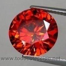 Collectionnisme de gemmes: ZAFIRO NARANJA TALLA DIAMANTE 0,20 KILATES - MIRAR DENTRO Y LEER DESCRIPCION Y FOTO - Nº1. Lote 68619766