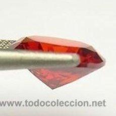 Coleccionismo de gemas: ZAFIRO NARANJA TALLA DIAMANTE 1,50 KILATES - MIRAR DENTRO Y LEER DESCRIPCION Y FOTO - Nº1. Lote 53145493
