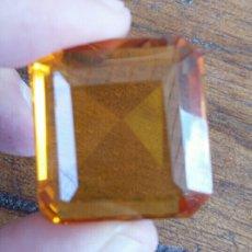 Coleccionismo de gemas: PRECIOSO CITRINO TALLADO. Lote 57283443