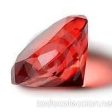 Coleccionismo de gemas: ZAFIRO ROJO SANGRE TALLA DIAMANTE DE 6,15 KILATES - MIRAR DENTRO Y LEER DESCRIPCION VER FOTO - Nº 2. Lote 58177259
