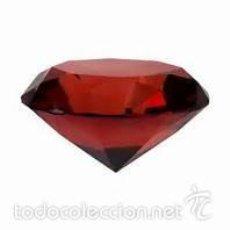 Coleccionismo de gemas: ZAFIRO ROJO SANGRE TALLA DIAMANTE DE 11,15 KILATES - MIRAR DENTRO Y LEER DESCRIPCION VER FOTO -Nº 27. Lote 58182635