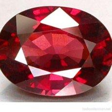 Colecionismo de pedras preciosas: RUBI ROJO SANGRE 5,75 KILATES - MIRAR DENTRO Y LEER DESCRIPCION VER FOTO - Nº 28. Lote 58186786