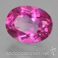 Coleccionismo de gemas: ZAFIRO ROSA DE 2,06 KILATES - MIRAR DENTRO Y LEER DESCRIPCION VER FOTO - Nº 13. Lote 58208114