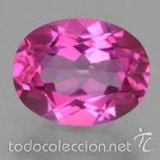 Coleccionismo de gemas: ZAFIRO ROSA DE 2 KILATES - MIRAR DENTRO Y LEER DESCRIPCION VER FOTO - Nº 1. Lote 60643598