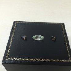 Coleccionismo de gemas: AMATISTA Y CUARZO 6,75 CT. Lote 58286125