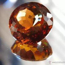 Coleccionismo de gemas: 41.35 CT CITRINO NATURAL 22 X 12 MMS. Lote 61713332