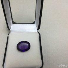 Coleccionismo de gemas: AMATISTA DE 11,85 CT MORADO INTENSO. Lote 70167086