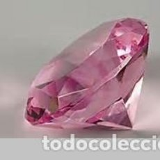 Coleccionismo de gemas: ZAFIRO TALLA DIAMANTE - ROSA CHICLE DE 0,22 KILATES Y MIDE 3X3X2 MILIMETROS - Nº8. Lote 76197775