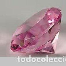 Coleccionismo de gemas: ZAFIRO TALLA DIAMANTE - ROSA CHICLE DE 0,37 KILATES Y MIDE 3X3X2 MILIMETROS - Nº24. Lote 76198867