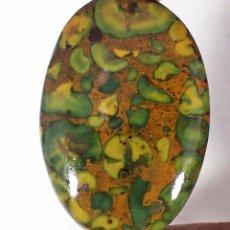 Coleccionismo de gemas: PIEDRA PRECIOSA - JASPE NATURAL CON PIEDRAS SUELTAS - CABUJÓN - GEMA. Lote 78055653
