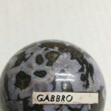Coleccionismo de gemas: GEMA BOLA PULIDA GABBRO. Lote 78073374