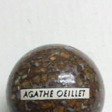 Coleccionismo de gemas: GEMA BOMA PULIDA AGATHE OEILLET. Lote 78076417