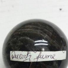 Coleccionismo de gemas: GEMA BOLA PULIDA *QUARTZ FUME*. Lote 78183186